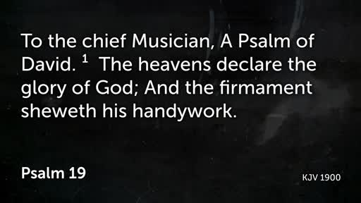 PBC Worship 07/07/2019