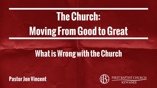 What is Wrong with the Church?