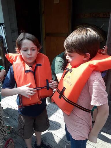 Cornerstone Picnic Going Canoeing 3