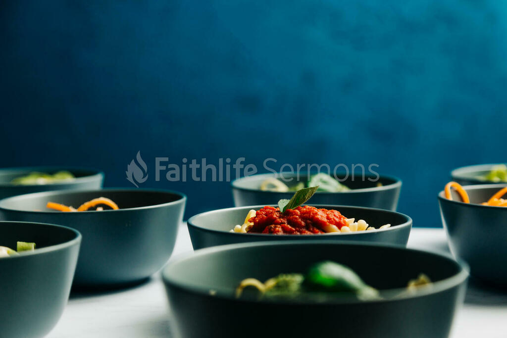 Bowls of Pasta large preview