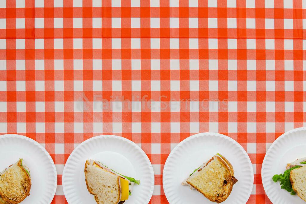 Picnic sandwiches on tablecloth 16x9 8158afa7 e1f4 4339 aa63 26257a7ba8ce preview