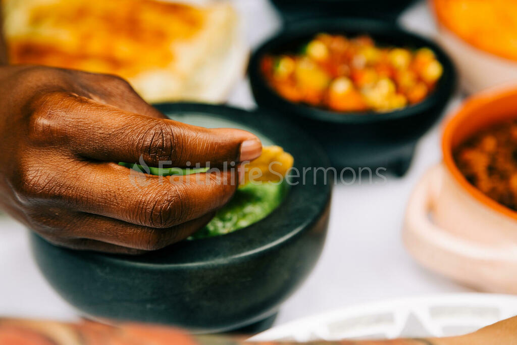 Mexican Food Spread large preview