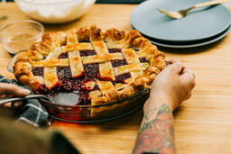 Berry Pie serving up 16x9 397f5048 d980 4065 9aef afe862690a6d PowerPoint image