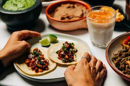 Mexican Food Spread  image 1