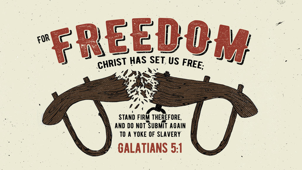 Galatians 5:1 large preview