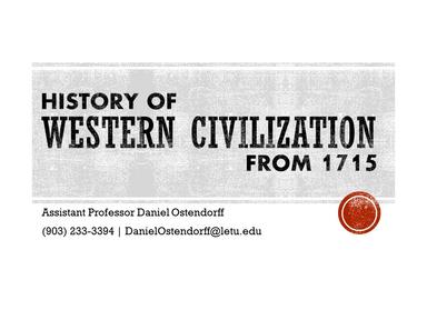 Transatlantic Trade, Slavery, & Rebellion in the 18th Century