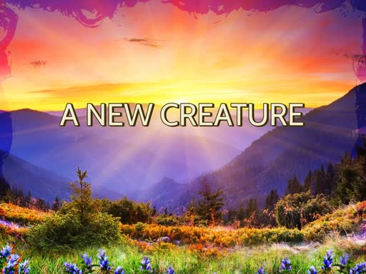 A New Creature