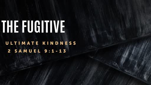 The Fugitive - Ultimate Kindness