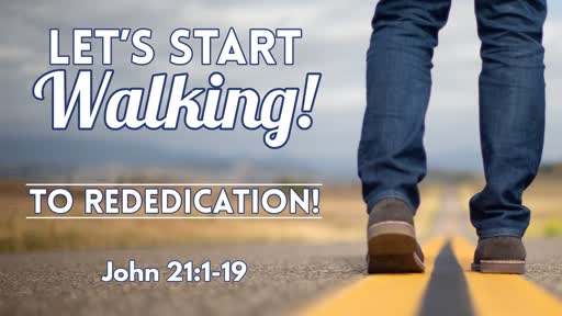 To Rededication! - July 14, 2019