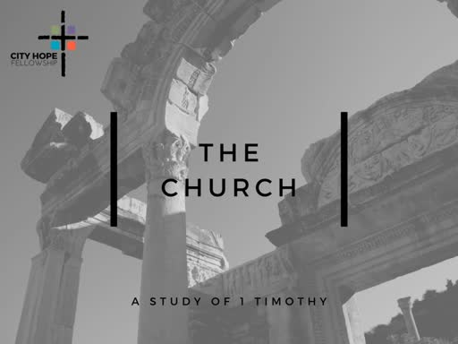 The Worship of the Church- Part 2 (1 Timothy 2:8-15)