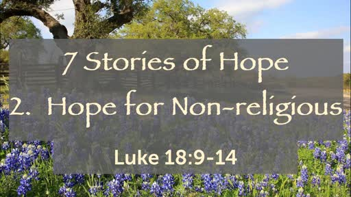 Hope for Non-religious 07-14-19
