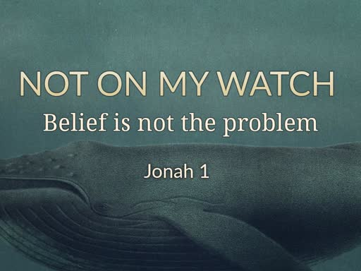 Belief is not the problem
