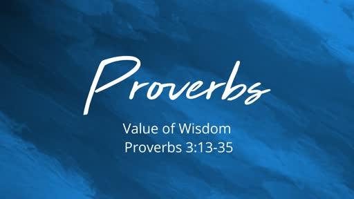 Value of Wisdom
