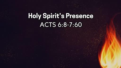 Holy Spirit's Presence - July 14, 2019