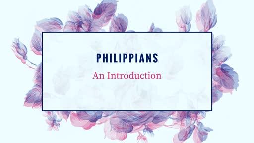 Phillipians Intro