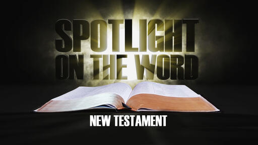 Spotlight On The Word: New Testament