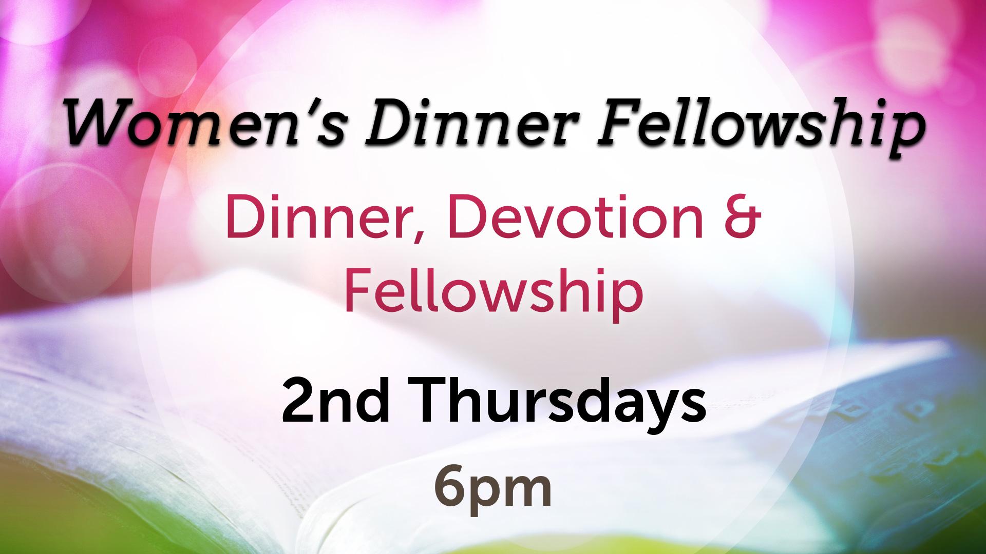 Women's Dinner Fellowship
