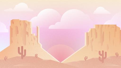 Desert Valentine's Day - Content Motion