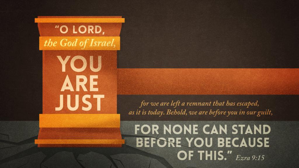 Ezra 9:15 large preview