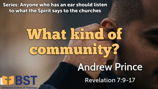 Anyone who has an ear should listen to what the Spirit says to the churches