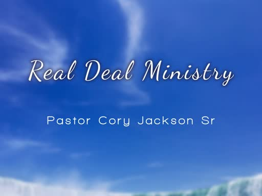 July 20 Service Real Deal Ministry