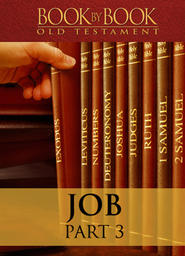 Book by Book: Job - Part 3 - Someone to mediate between us (8-10)
