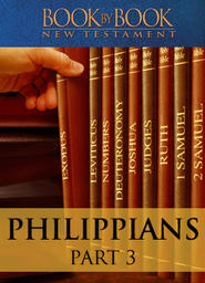 Book By Book: Philippians - Part 3 - Your attitude should be the same as that of Christ Jesus (Ch. 2:1-11)
