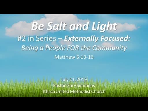 Be Salt and Light