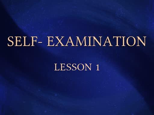 Self Examination 01