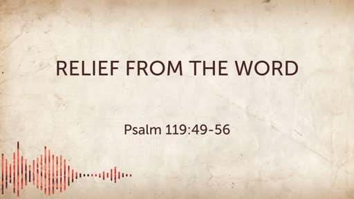 Relief from the Word 07/21