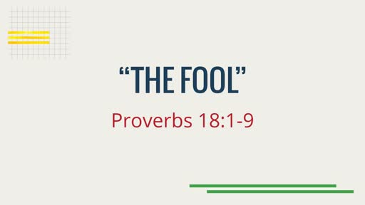 """The Fool"""