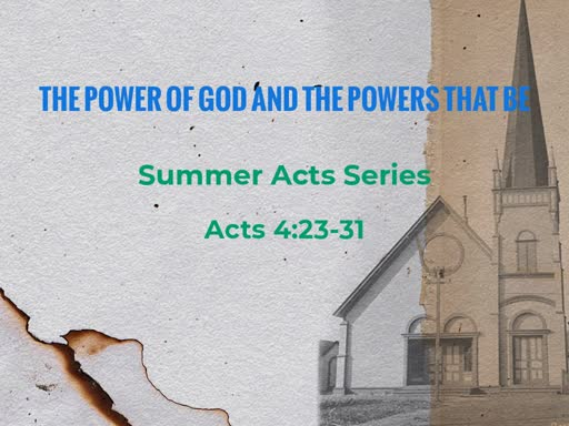 The Power of God and the Powers That Be