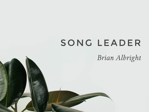 Sunday Morning Worship 20190721