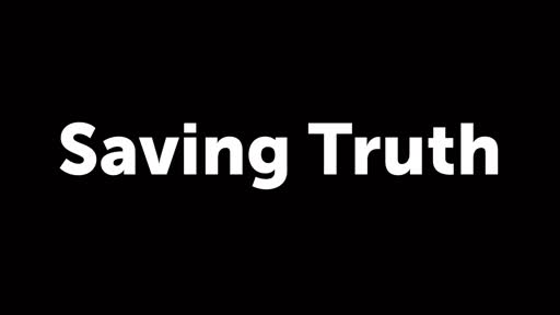Saving Truth