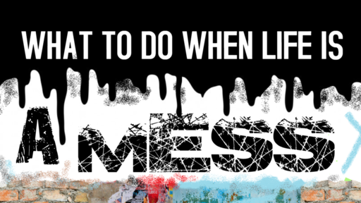 What To Do When Life Is A Mess
