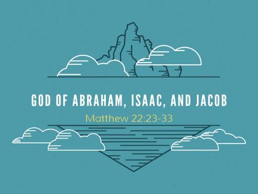 God of Abraham, Isaac, and Jacob