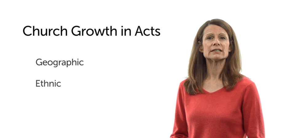 church growth in Acts