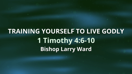 Training Yourself To Live Godly