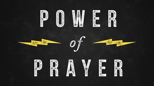 PRAYER, POWER, ENDURANCE