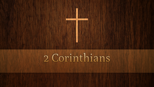 2 Corinthians 1:1-2:13 - Comfort for sufferers and sinners