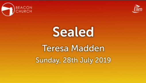 Sealed - Teresa Madden - Sunday, 28th July 2019