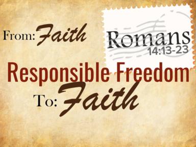 Responsible Freedom