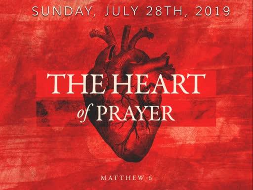 Sunday, July 28th, Holy Communion