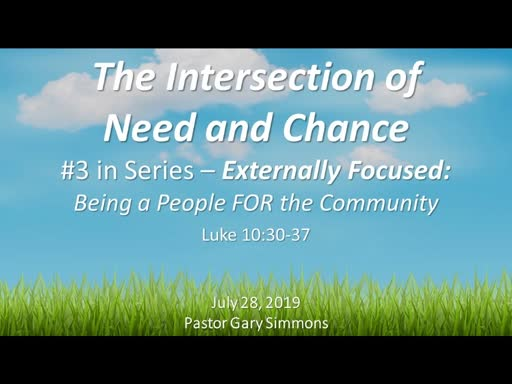 The Intersection of Need and Chance