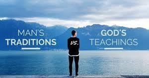 God's Teaching Vs Mans