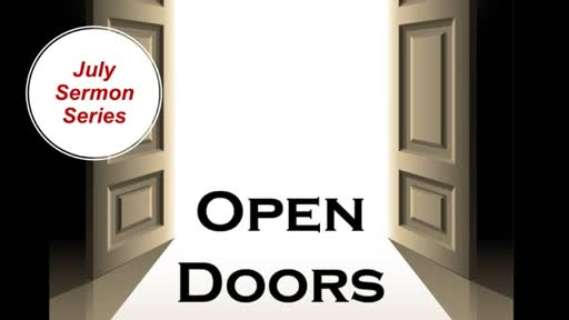 Discerning the Will Of God Through An Open-Door Relationship Lesson 4