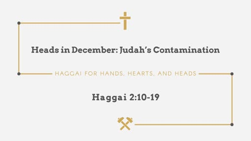 Heads in December: Judah's Contamination