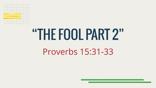 """The Fool part 2"""