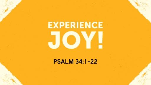Experience Joy! - 07.28.19 AM