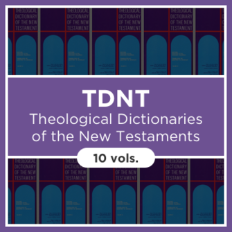 Theological Dictionary of the New Testament | TDNT (10 vols.)